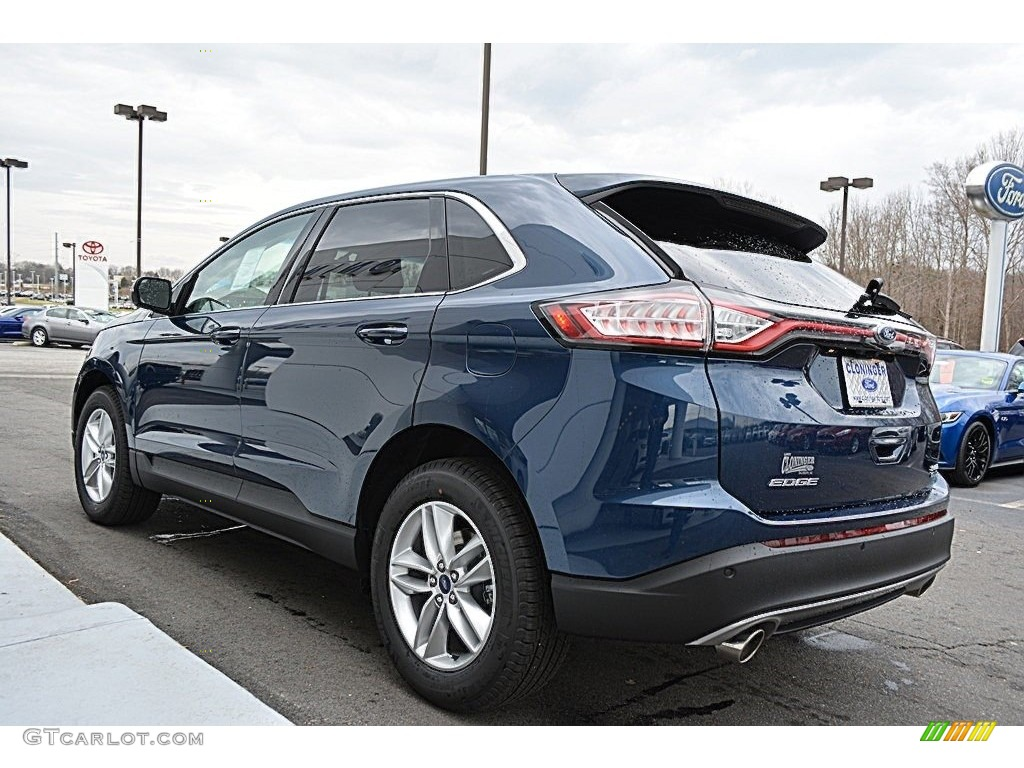 2017 Blue Jeans Metallic Ford Edge Sel 118156845 Photo 20 Car Color Galleries