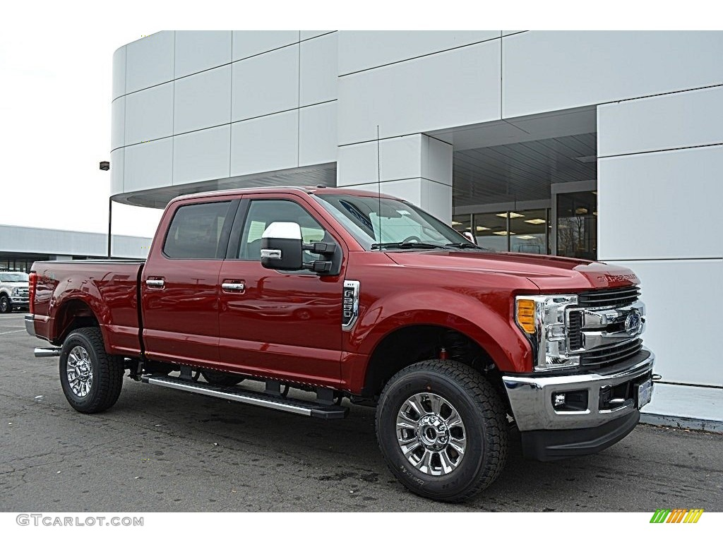 2017 ruby red ford f250 super duty xlt crew cab 4x4 118156844 photo 6 car. Black Bedroom Furniture Sets. Home Design Ideas