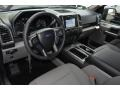 Earth Gray Interior Photo for 2017 Ford F150 #118174395