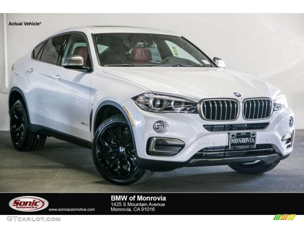 2017 Mineral White Metallic BMW X6 SDrive35i 118176390