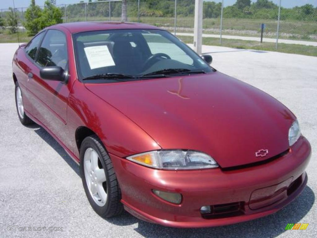 1998 Chevrolet Cavalier 1 - Cavalier Z Coupe Cayenne Red Metallic Gray Photo - 1998 Chevrolet Cavalier 1