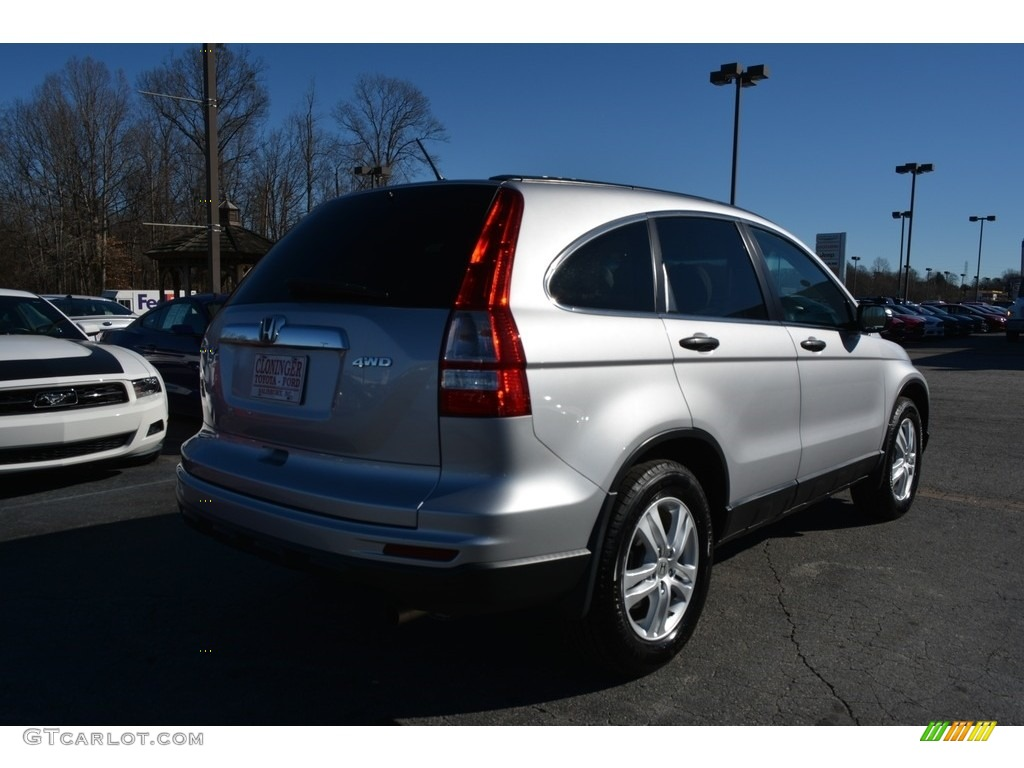 2011 CR-V EX 4WD - Alabaster Silver Metallic / Gray photo #3