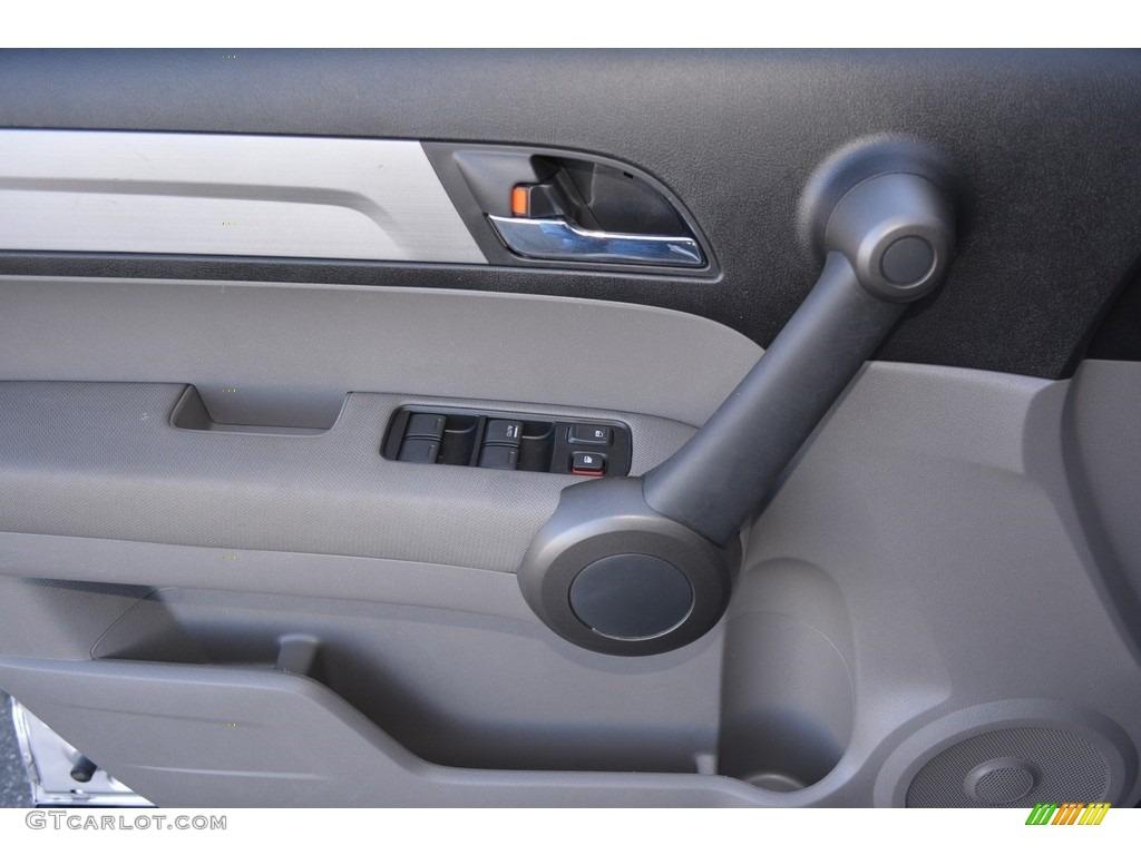 2011 CR-V EX 4WD - Alabaster Silver Metallic / Gray photo #8