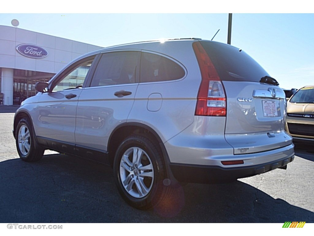 2011 CR-V EX 4WD - Alabaster Silver Metallic / Gray photo #25