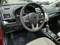 Ivory Dashboard Photo for 2017 Subaru Crosstrek #118209935
