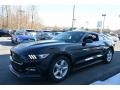 Shadow Black 2017 Ford Mustang V6 Coupe Exterior