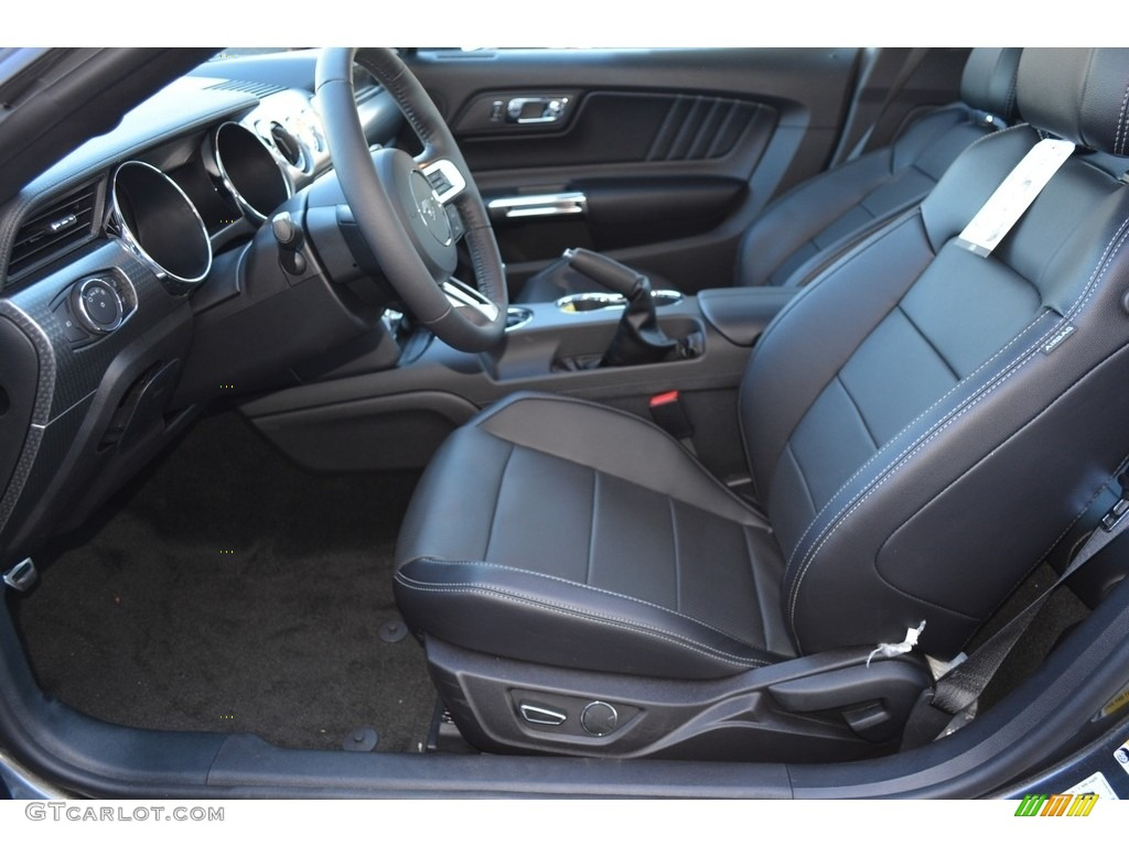 2017 Magnetic Ford Mustang Gt Premium Coupe 118200452 Photo 6 Car Color Galleries