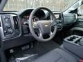 Jet Black Interior Photo for 2017 Chevrolet Silverado 1500 #118216319
