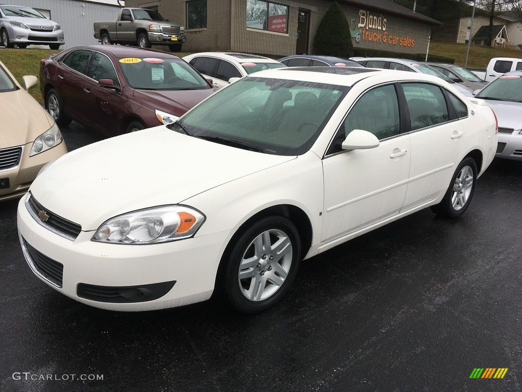 2007 White Chevrolet Impala Lt 118221506 Gtcarlot Com