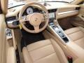 Sand Beige Interior Photo for 2012 Porsche 911 #118257405