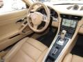 Sand Beige Dashboard Photo for 2012 Porsche 911 #118257534