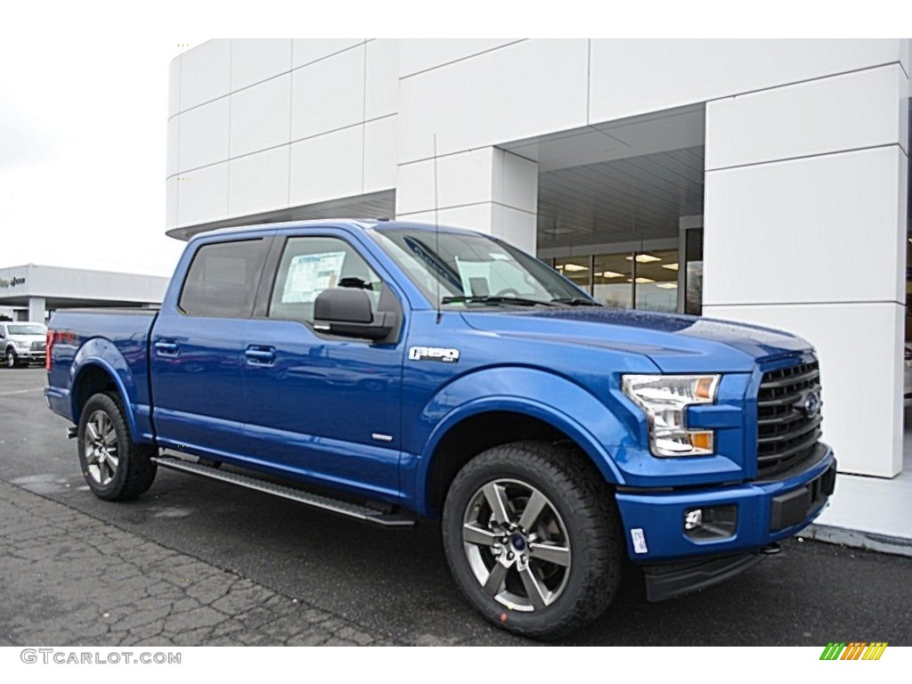 2017 lightning blue ford f150 xlt supercrew 4x4 118261102. Black Bedroom Furniture Sets. Home Design Ideas