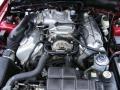 2001 Laser Red Metallic Ford Mustang Cobra Convertible  photo #28