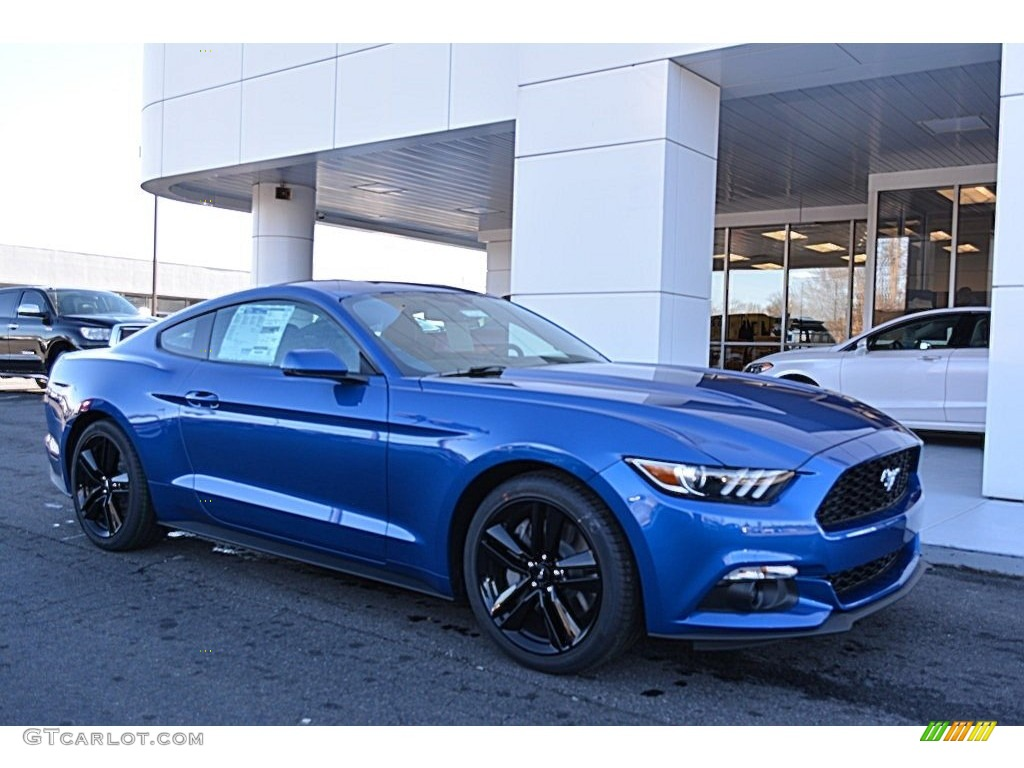 Lightning Blue Mustang Ford
