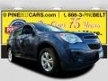 Atlantis Blue Metallic 2014 Chevrolet Equinox LS