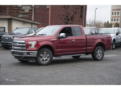 2017 Ford F150 Lariat SuperCab 4x4 Data, Info and Specs