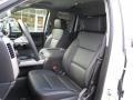 Jet Black Front Seat Photo for 2017 Chevrolet Silverado 1500 #118329311