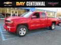 Red Hot 2017 Chevrolet Silverado 1500 LT Double Cab 4x4