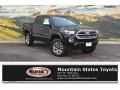 2017 Black Toyota Tacoma Limited Double Cab 4x4 #118339157