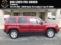 Deep Cherry Red Crystal Pearl 2012 Jeep Patriot Sport