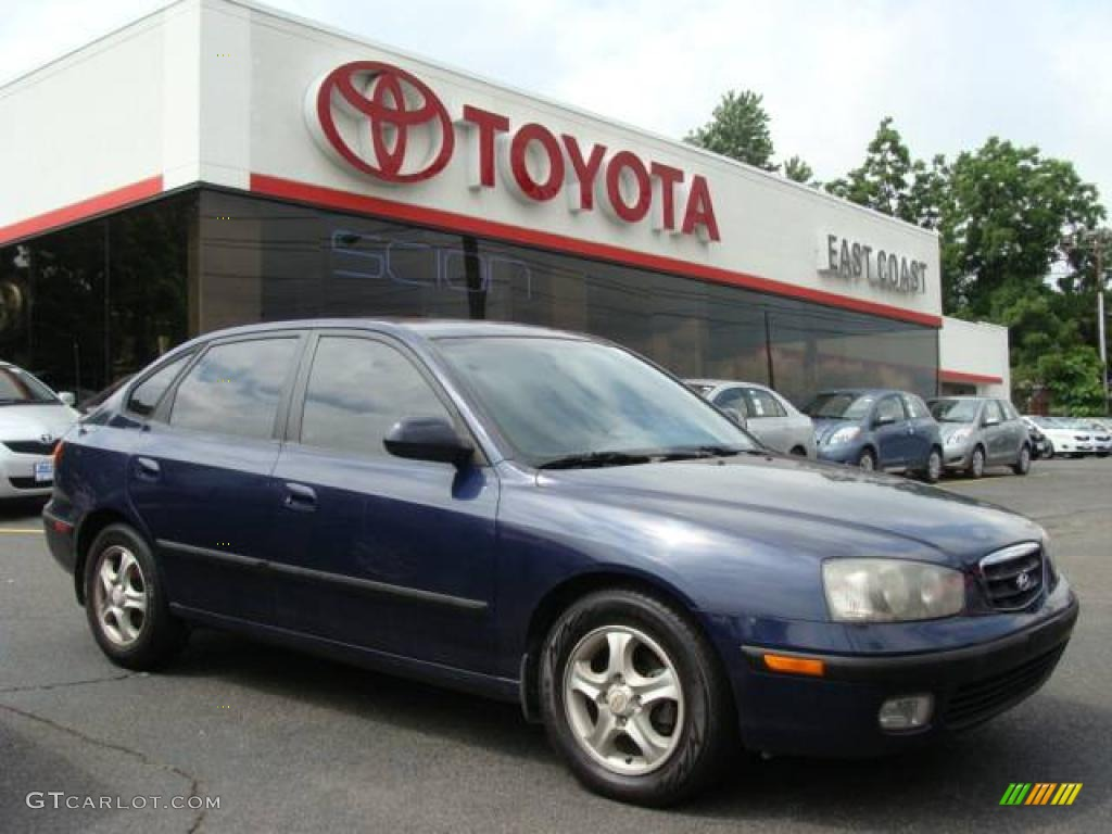 2002 carbon blue hyundai elantra gt hatchback 11809020 gtcarlot com car color galleries gtcarlot com