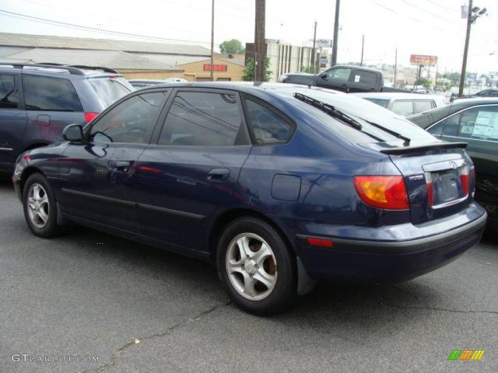 2002 carbon blue hyundai elantra gt hatchback 11809020 photo 5 gtcarlot com car color galleries gtcarlot com