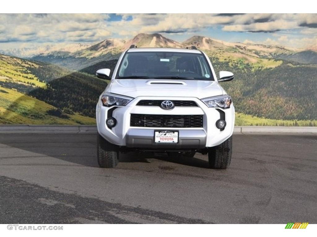 2017 Super White Toyota 4runner Trd Off Road Premium 4x4 118339143 Photo 2 Gtcarlot Com Car Color Galleries