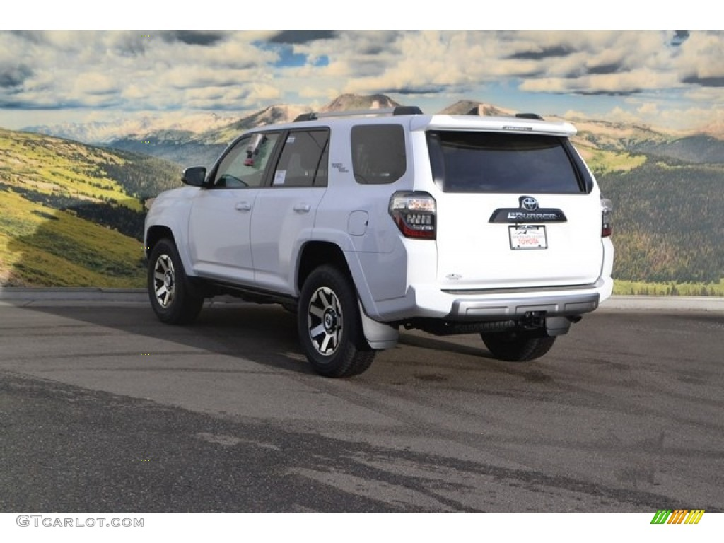 Toyota Blizzard Pearl >> 2017 Super White Toyota 4Runner TRD Off-Road Premium 4x4 #118339143 Photo #3 | GTCarLot.com ...