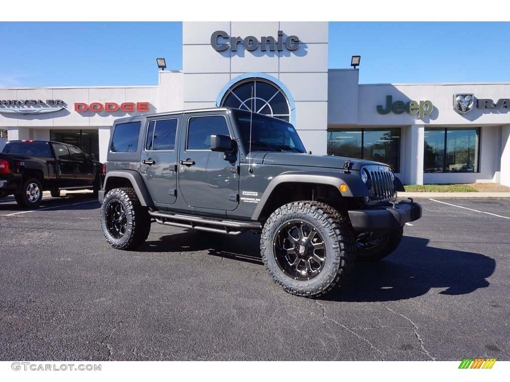 2017 Rhino Jeep Wrangler Unlimited Sport 4x4 118339286 Car Color Galleries