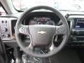 Jet Black Steering Wheel Photo for 2017 Chevrolet Silverado 1500 #118382220