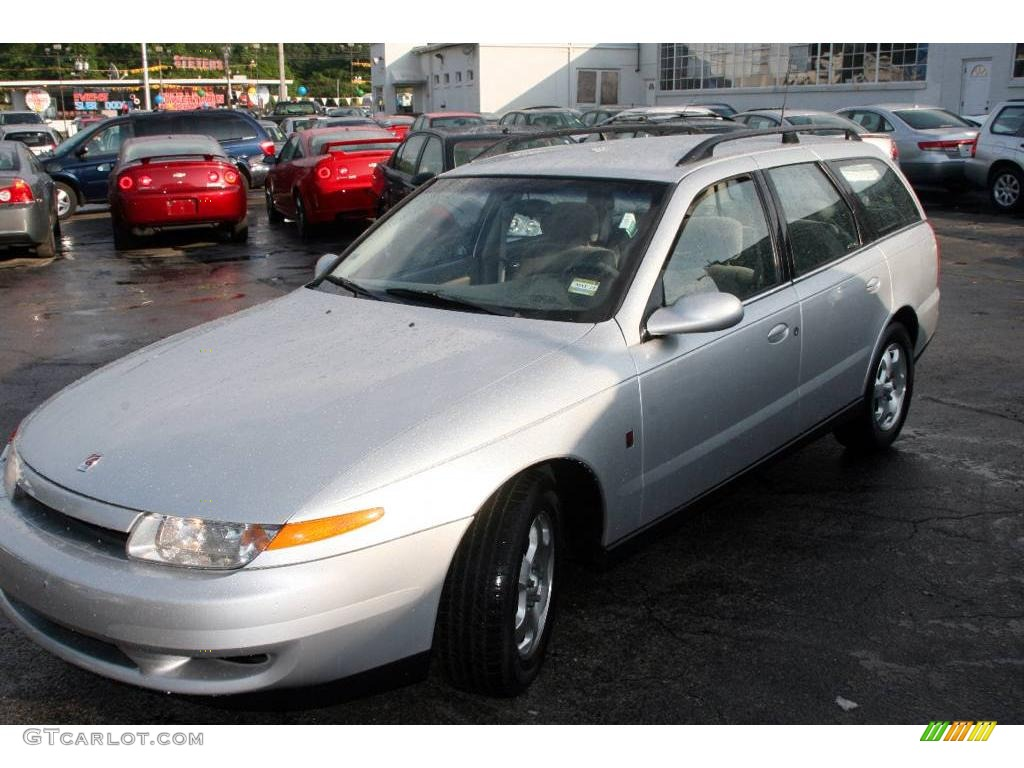 2002 l series lw300 wagon bright silver gray photo 1