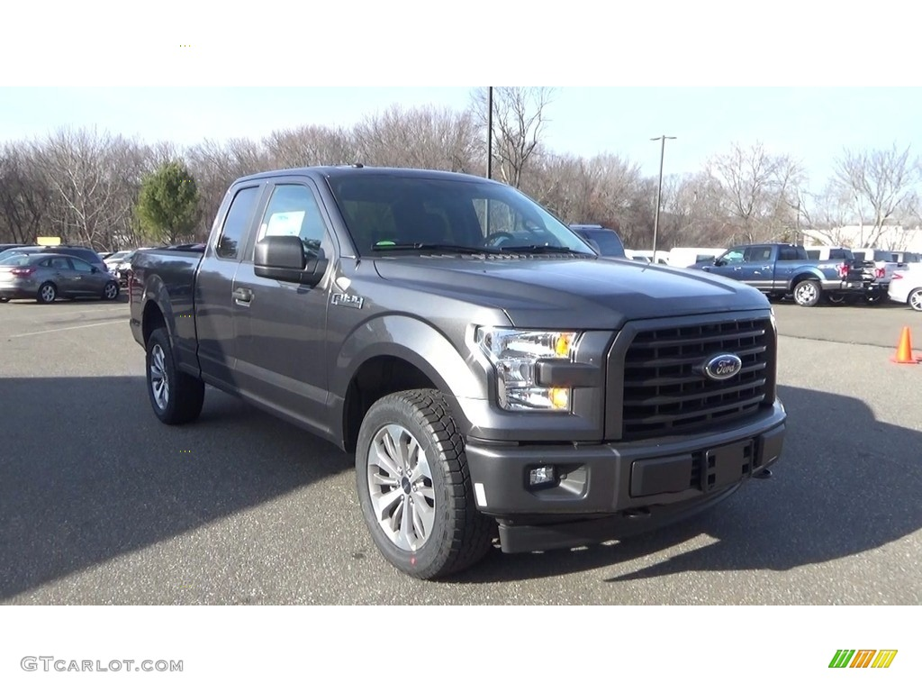 2017 lithium gray ford f150 xl supercab 4x4 118385820 car color galleries. Black Bedroom Furniture Sets. Home Design Ideas