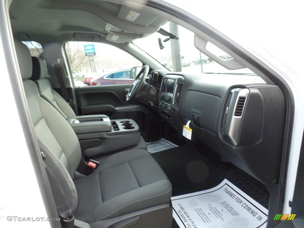 2017 Summit White Chevrolet Silverado 1500 Lt Double Cab 4x4 118395758 Photo 18