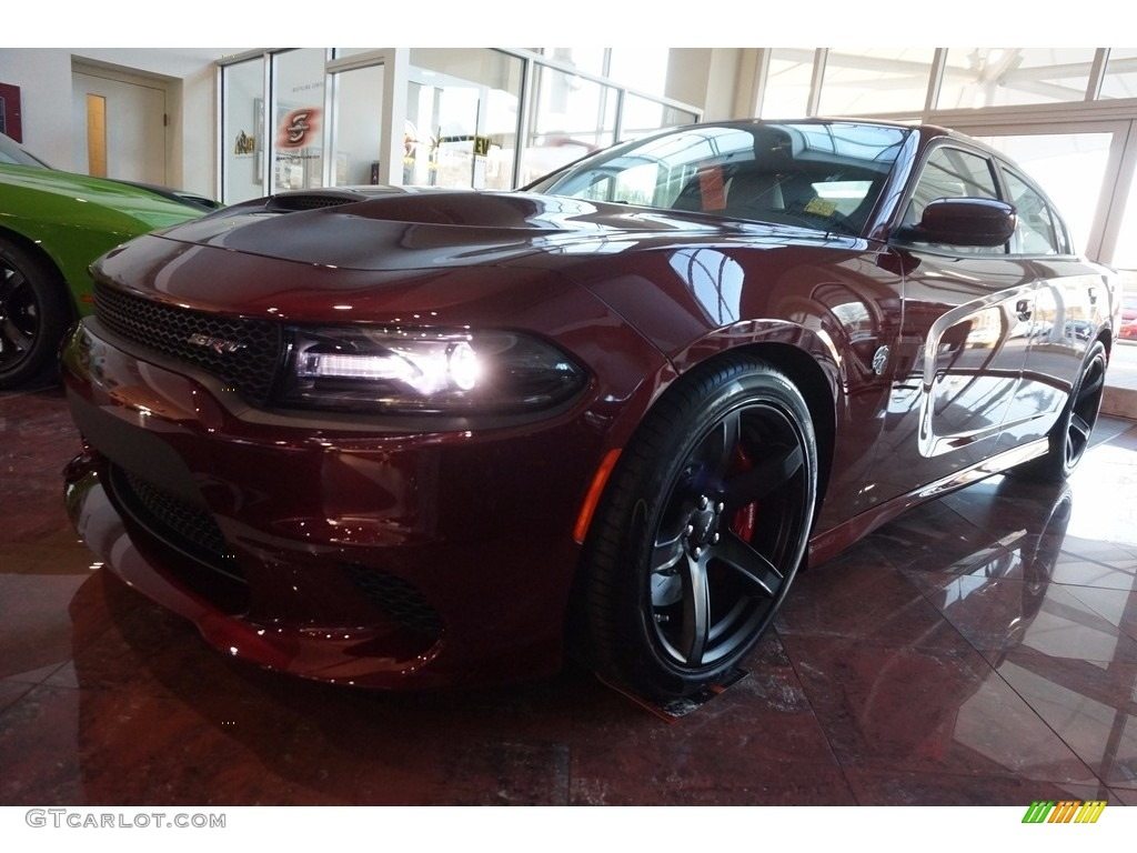 2017 Octane Red Dodge Charger SRT Hellcat #118395791 ...