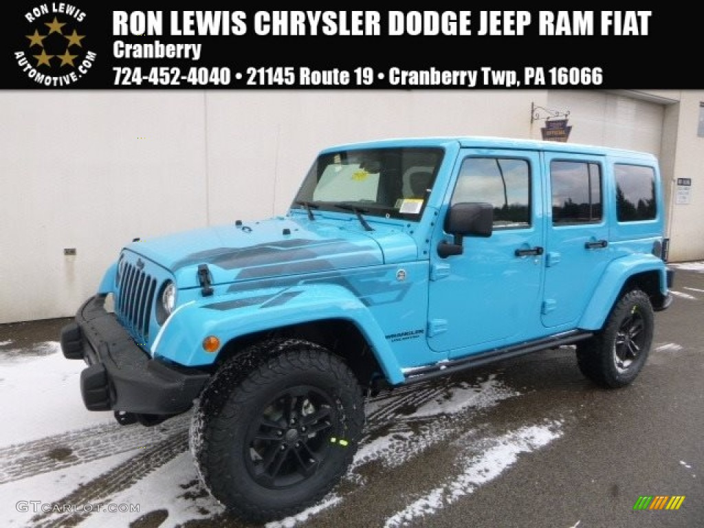 2017 Chief Blue Jeep Wrangler Unlimited Winter Edition 4x4 118395765