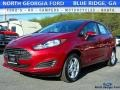 2017 Ruby Red Ford Fiesta SE Sedan #118410499