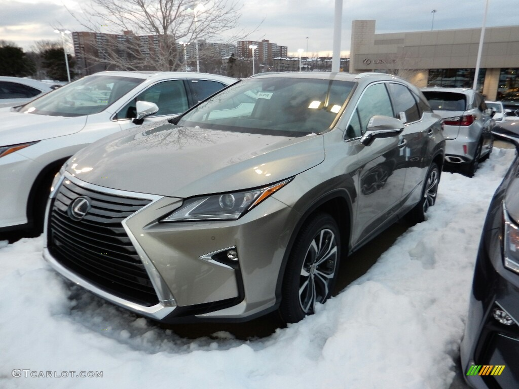 2017 Atomic Silver Lexus Rx 350 Awd 118434804 Car Color Galleries