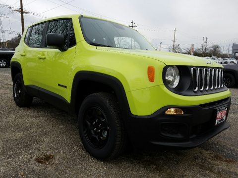 2017 Jeep Renegade Sport 4x4 Data, Info and Specs
