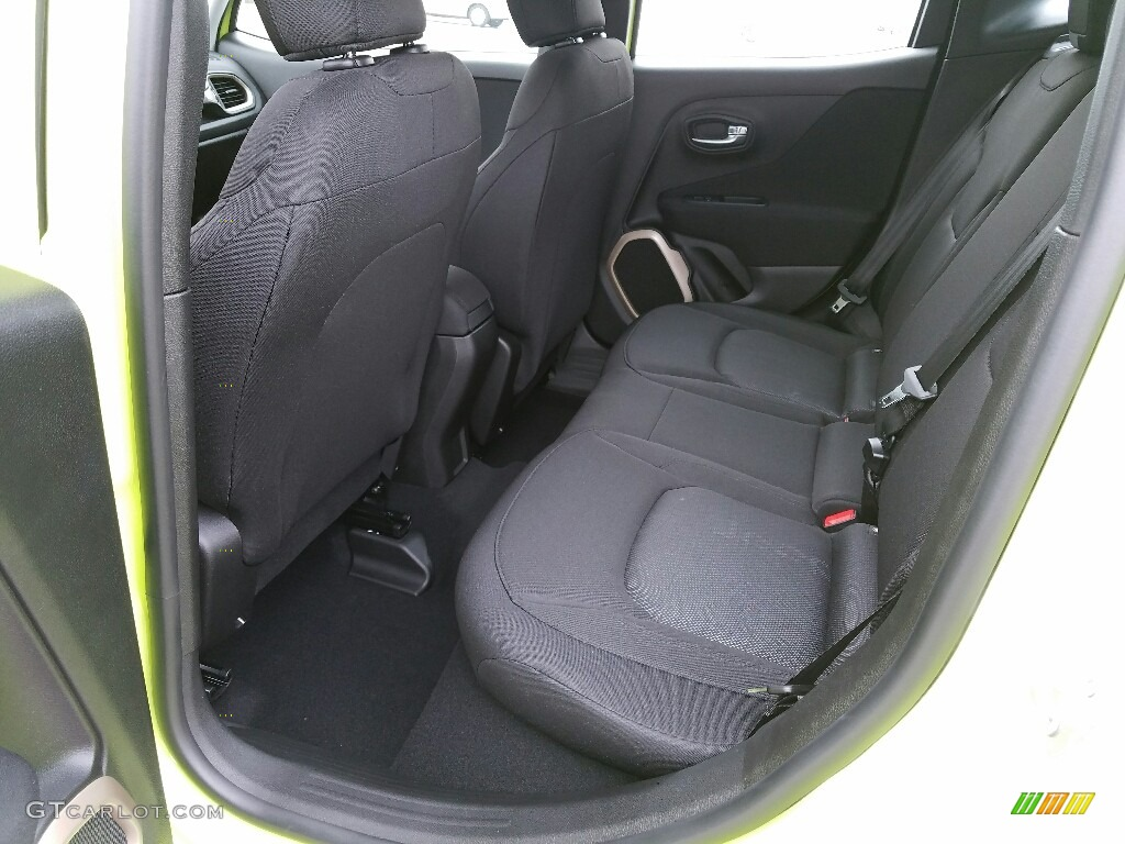 2017 Jeep Renegade Sport 4x4 Rear Seat Photos