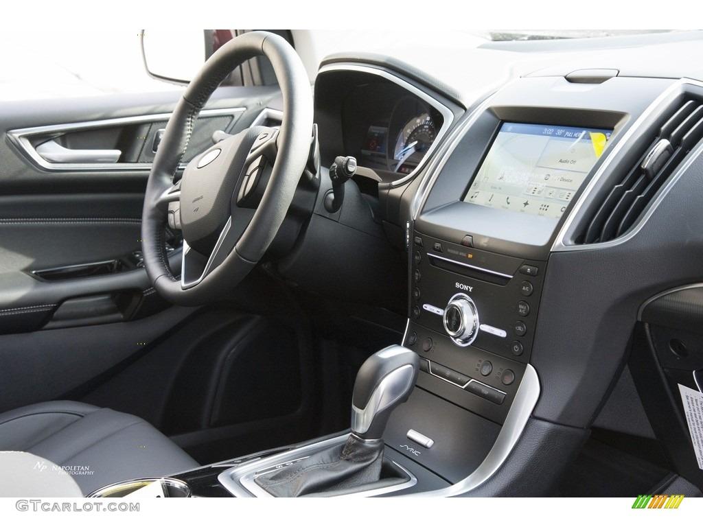 2017 Burgundy Velvet Metallic Ford Edge Titanium Awd 118434710 Photo 8 Car