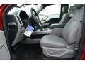 Earth Gray Interior Photo for 2017 Ford F150 #118457320