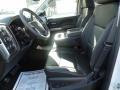 Jet Black Front Seat Photo for 2017 Chevrolet Silverado 1500 #118458211
