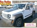 Bright White 2011 Jeep Liberty Renegade 4x4