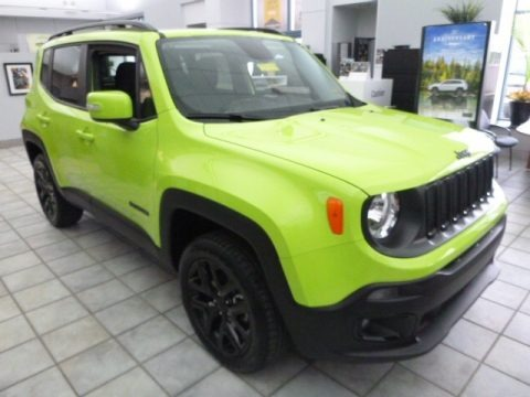 2017 Jeep Renegade Altitude 4x4 Data, Info and Specs