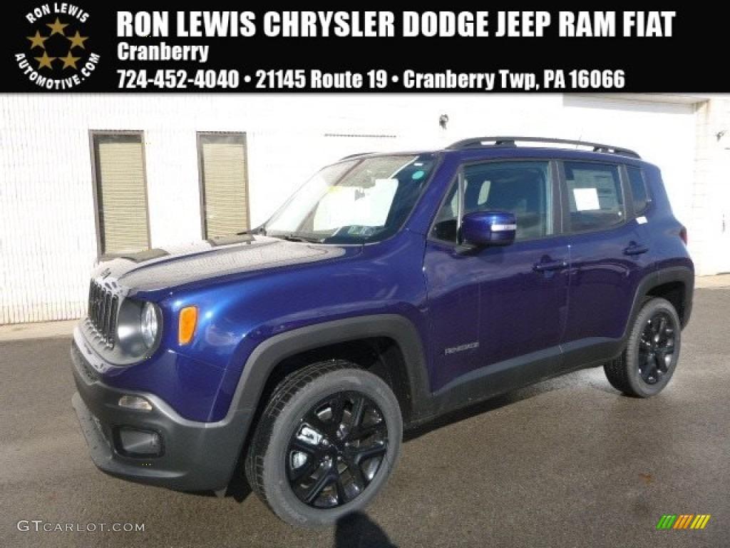 2017 jetset blue jeep renegade latitude 4x4 118458587 photo 5 car color galleries. Black Bedroom Furniture Sets. Home Design Ideas