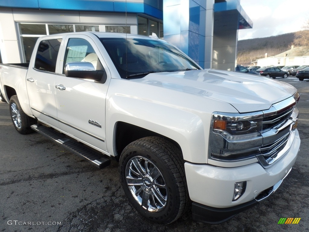 2017 iridescent pearl tricoat chevrolet silverado 1500 high country crew cab 4x4 118458549. Black Bedroom Furniture Sets. Home Design Ideas