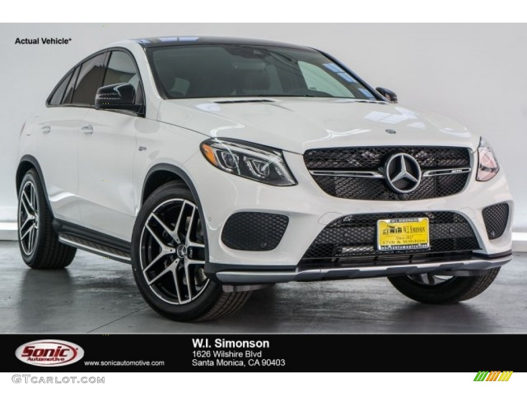 2017 Polar White Mercedes Benz Gle 43 Amg 4matic Coupe 118482935