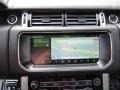 Ebony/Ebony Navigation Photo for 2017 Land Rover Range Rover #118485297
