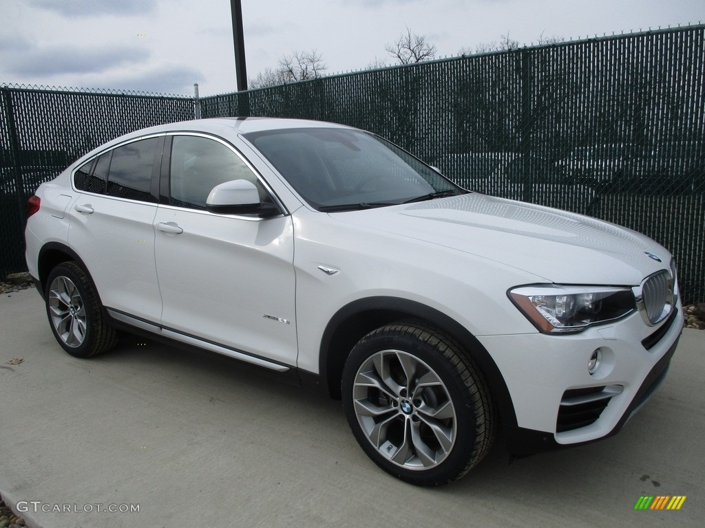 Alpine White BMW X4