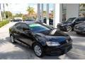 Black 2014 Volkswagen Jetta SE Sedan